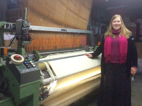 Joanna Brockbank S Dawes Weaving