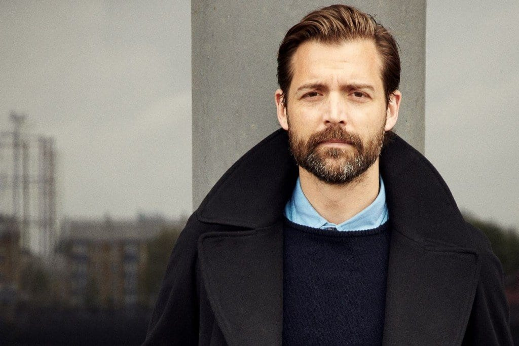 Patrick Grant, creative director of Norton & Sons and E. Tautz and presenter of The Great British Sewing Bee
