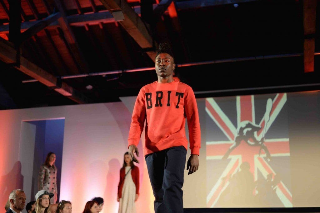 Our fashion show showcased over 30 manufacturers and brands that make in Leicestershire
