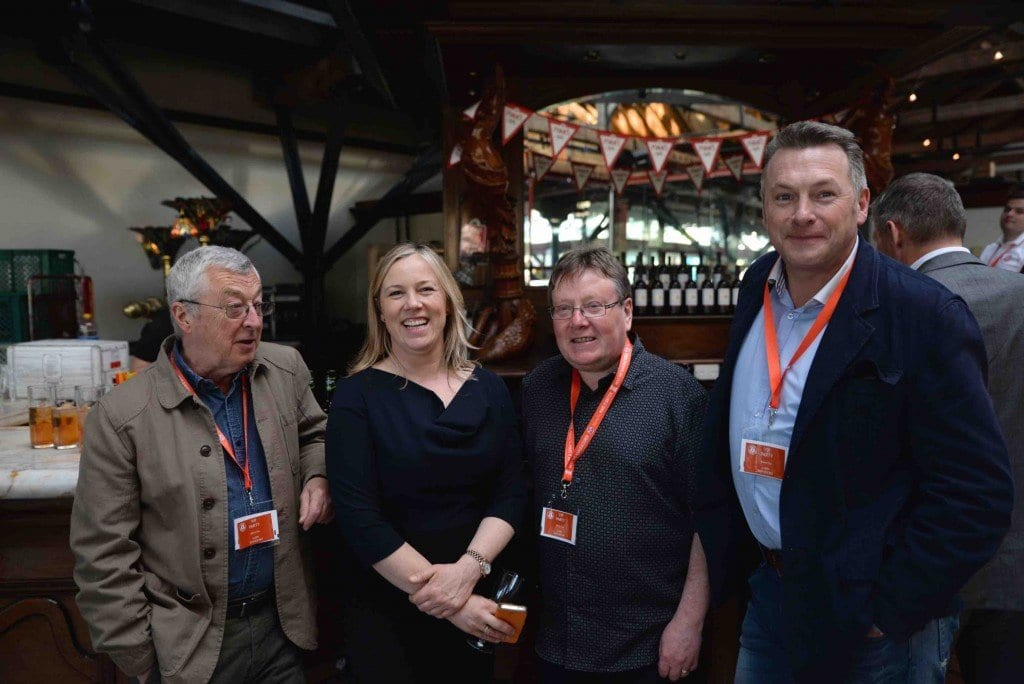 The London Small Business Centre & East End Manufacturing join me for a drink