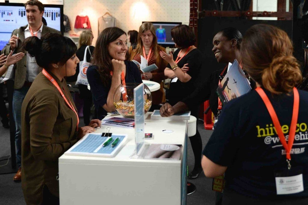 Creative Skillset Stand hosting 'Meet the Trainer' with advice on apprenticeships
