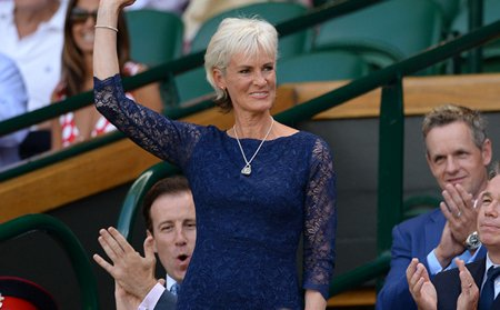 Judy Murray wearing Alie Street at WImbledon