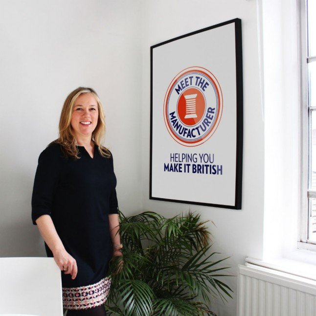 Kate Hills, founder of Make it British