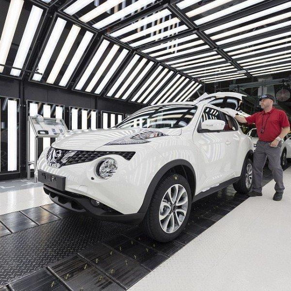 Nissan Juke Made in UK