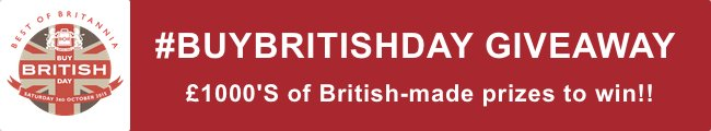 buy british day giveaway
