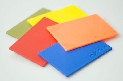 Coloured FORMcard samples