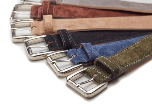 Denura belts in a choice of colour