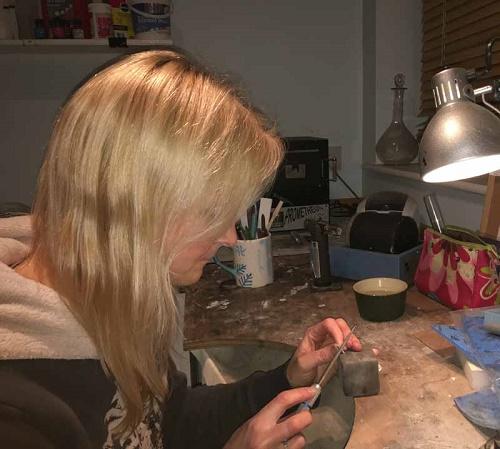 jewellery maker georgina ebellis