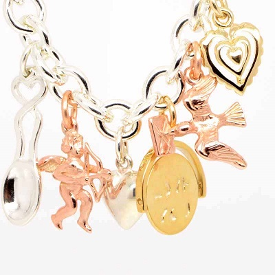 These lovely Valentine inspired charms will be keeping Georgina busy this month!