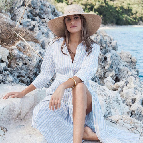 Luisa Kelsey summer wear and hats