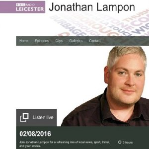 Kate Hills, CEO of Make it British, was interviewed by Jonathan Lampon on BBC Radio Leicester