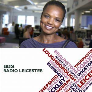 Make it British BBc Radio Leicester Lukwesa Burak