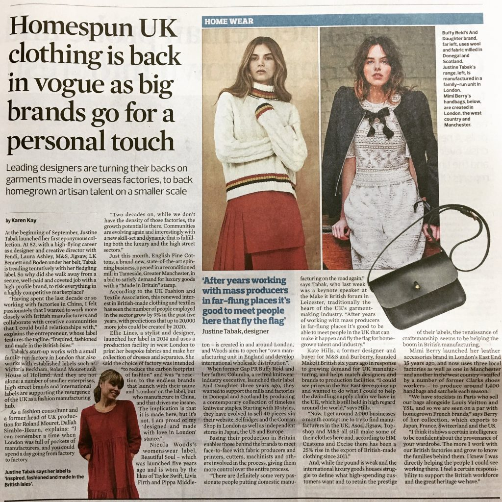 Article by Karen Kay for The Observer