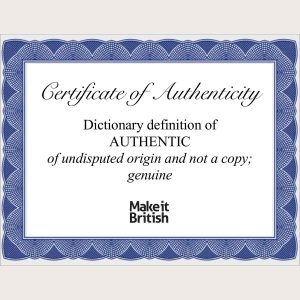 make it British campaign authentic