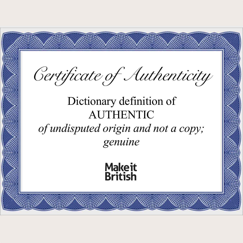 make it British campaign authentic