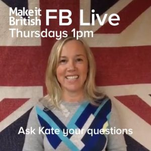 Make it British Live FB Q&A