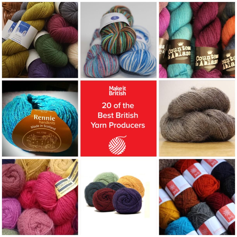 20 Of The Best British Yarn Producers Make It British