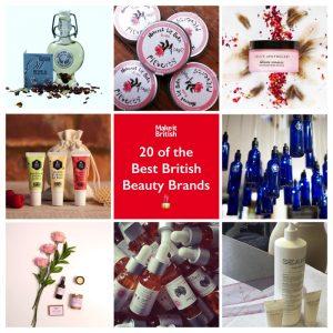 Best British beauty brands