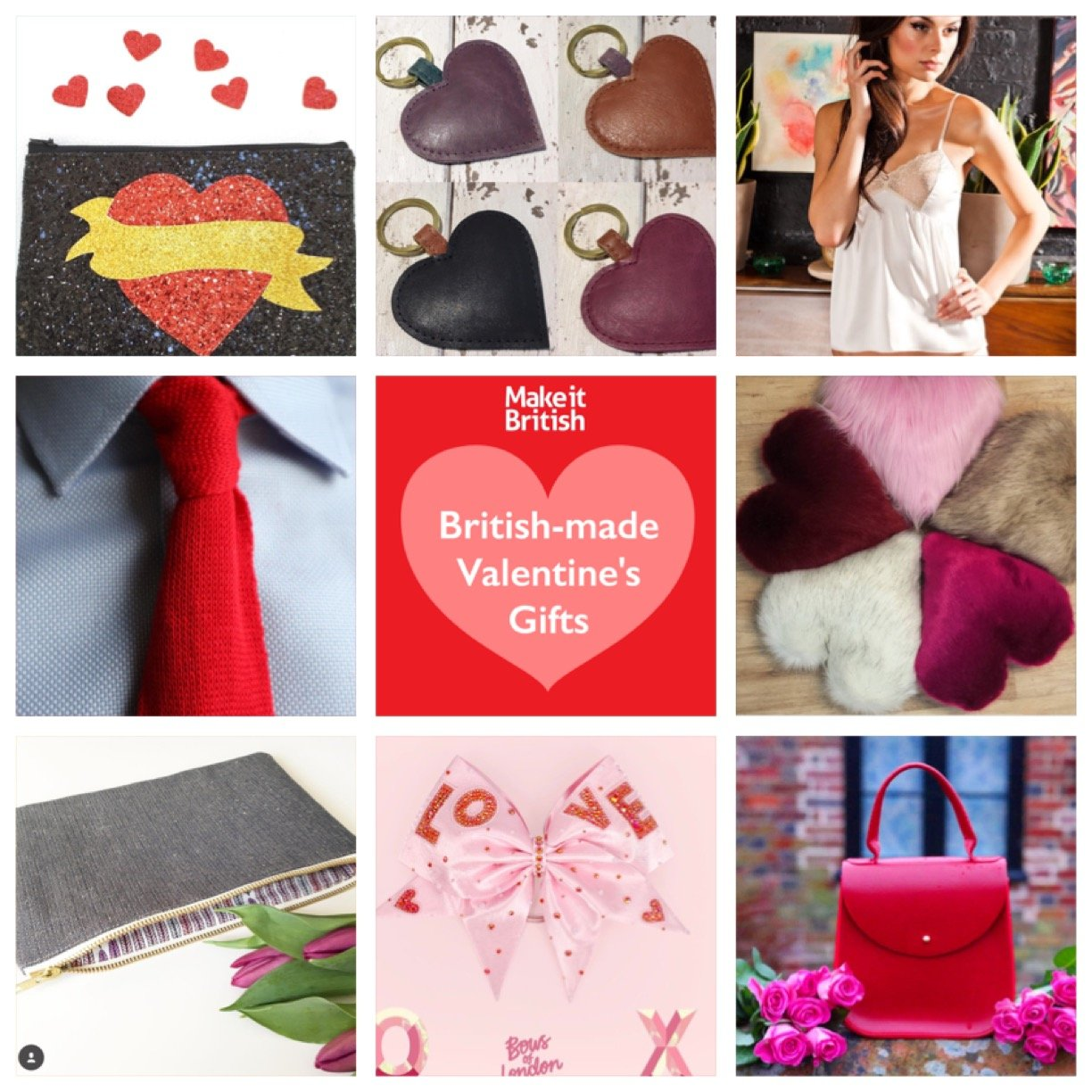 British-made valentines gifts