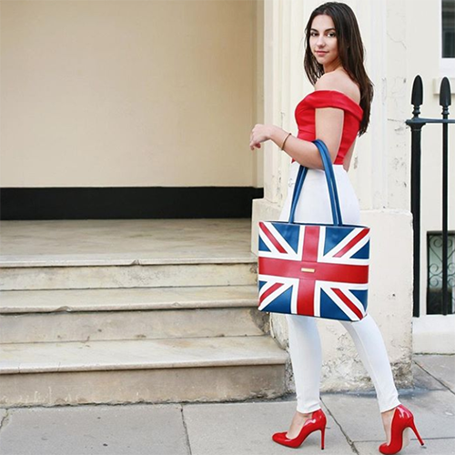 Isabella Queen British made bags