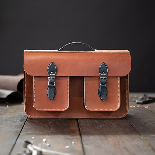 Leather Satchel Co British made bags