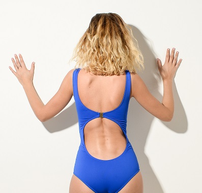 TODIVEFOR swimming costume in Blue Lagoon