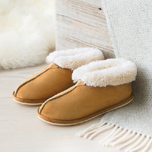Celtic & Co, sheepskin boots, british brands, made in britain, slippers, sheepskin shoes,