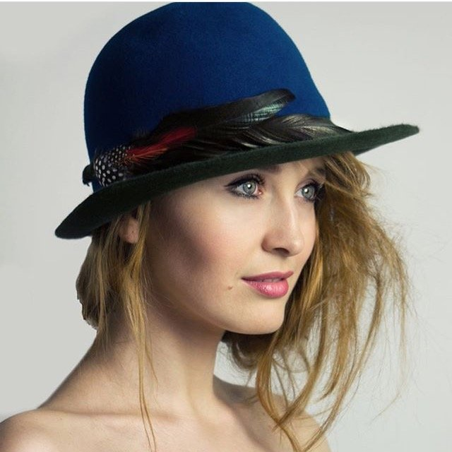 All of Agnieszka s hats are handcrafted one-off creations. The designer  developed her lifelong passion for hat-making through experimentation ... a6104261dfc