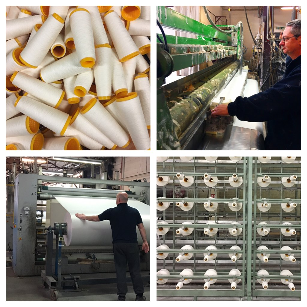 The Irish linen industry and my tour of the textile manufacturers of