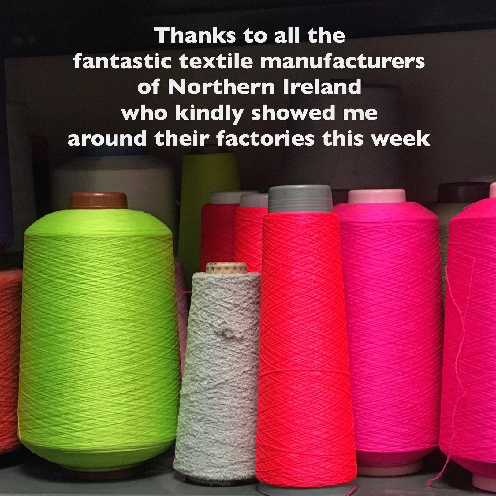 The Irish linen industry and my textiles tour of Northern Ireland