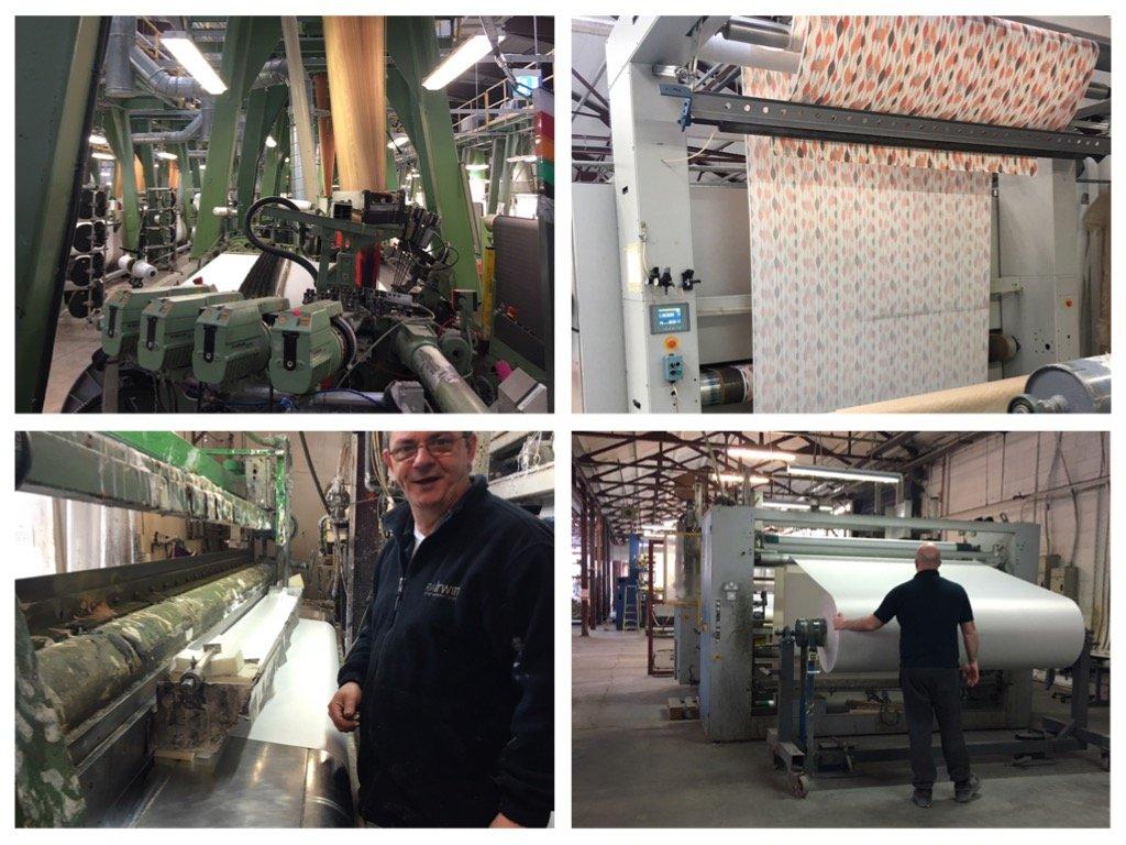 RA Irwin textile manufacturers Northern Ireland