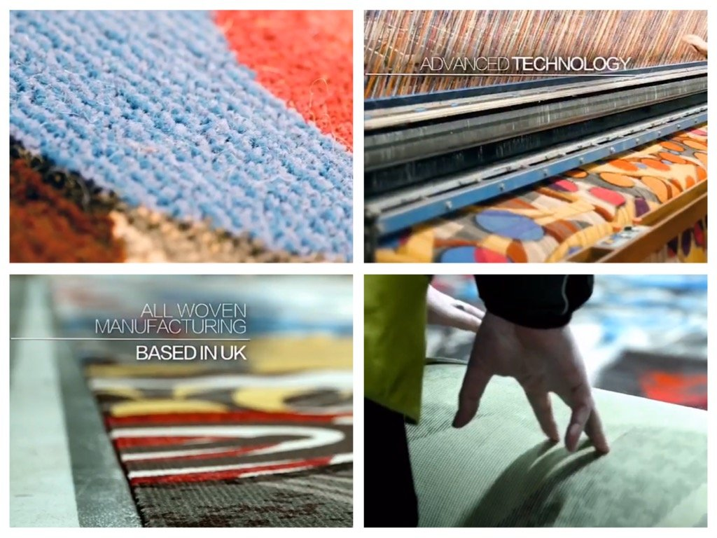 Ulster Carpets made in UK