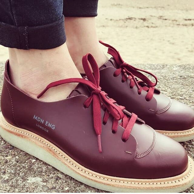 Modern English made shoes