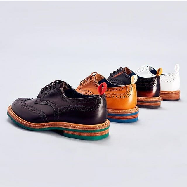 Tricker's British shoes
