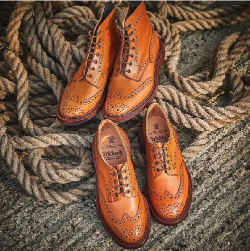 Tricker's British shoes, made in britain, made in the uk, british brand, mens shoes, uk manufacturing, shoes, loafers, brogues, smart shoes,