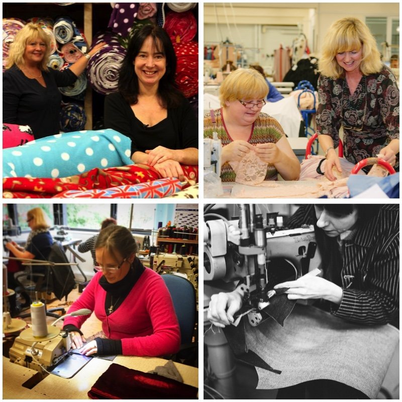 sewing factories in the UK