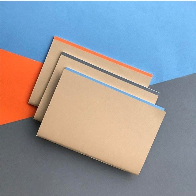 Mark and Fold stationery