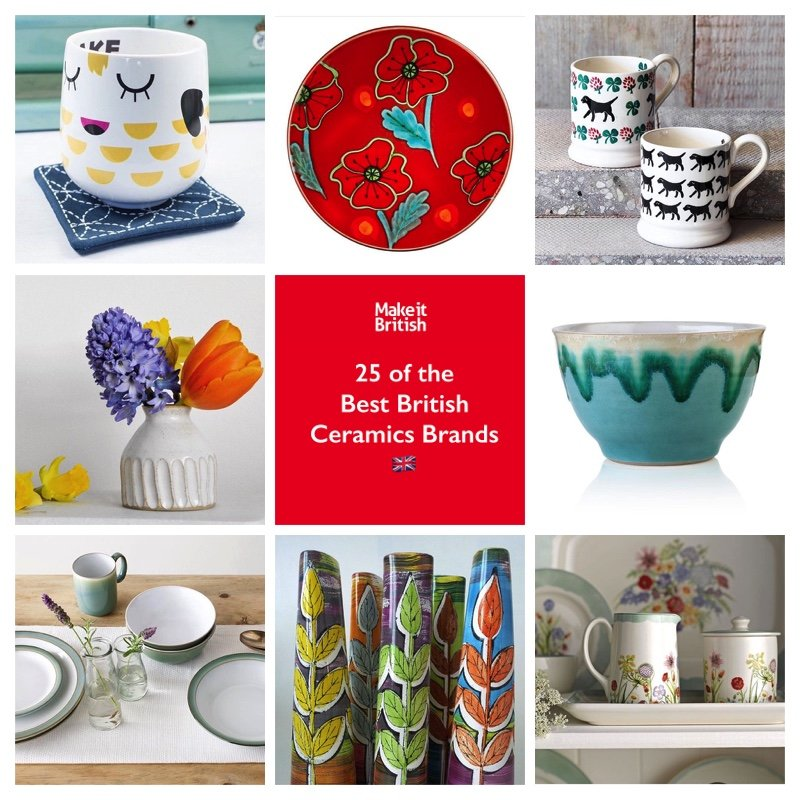 sc 1 st  Make it British & Top 25 British Ceramics brands