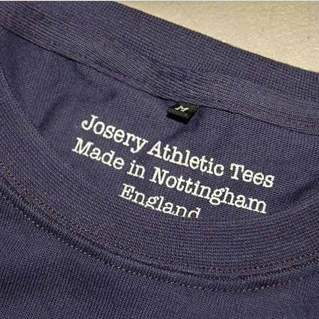 Josery athletic tees, made in Nottingham