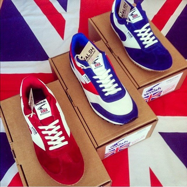 Walsh Casual British-made sports footwear