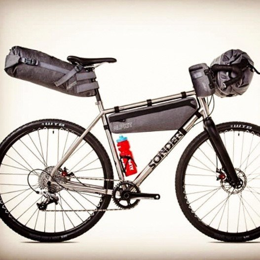 Alpkit British-made bike packing