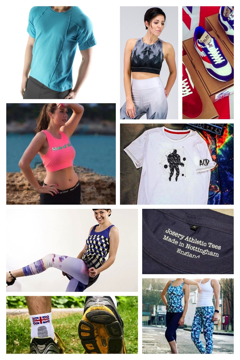 Top 10 gym and athleisure brands made in Britain Athleisure - clothing that takes you from the gym to the street - is on the rise. But which brands are making it in the UK? Here's our guide to athleisure gear that's made in Britain We put a call out on Instagram for gym and sportswear brands that are made in the UK. Given the growing popularity of this trend it was surprising that there was little to choose from. We'd love to find more, so if you have any suggestions please let us know.