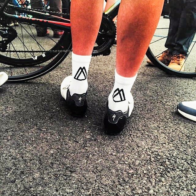 Mamnick British-made cycle socks
