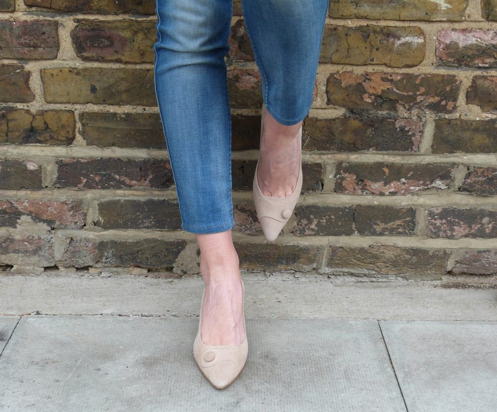 Olivia sand suede, perfect smart/casual footwear