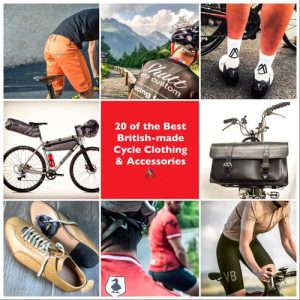 British-made cycle clothing and accessories