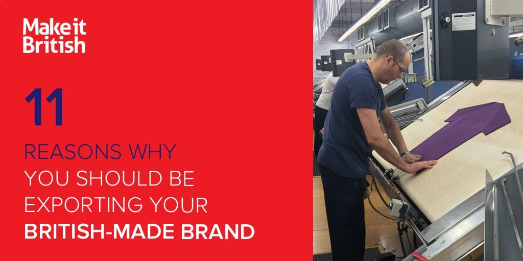 exporting your British-made brand