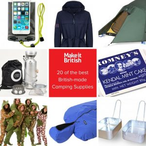 best british-made camping gear