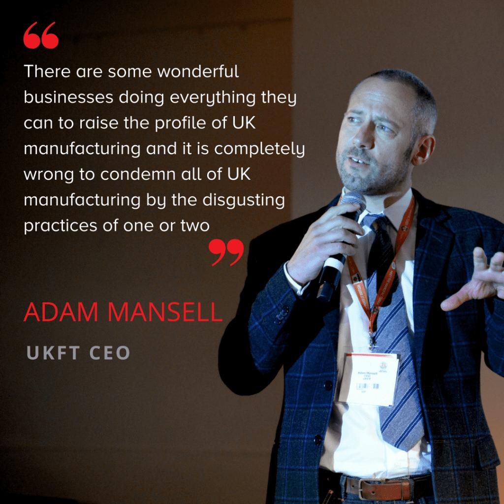 Adam Mansell UKFT