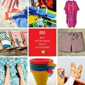 beach accessories made in Britain