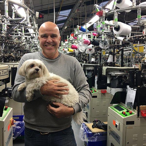 Martin Lowe, sockmine, sock, socks, factory, reshoring, maker